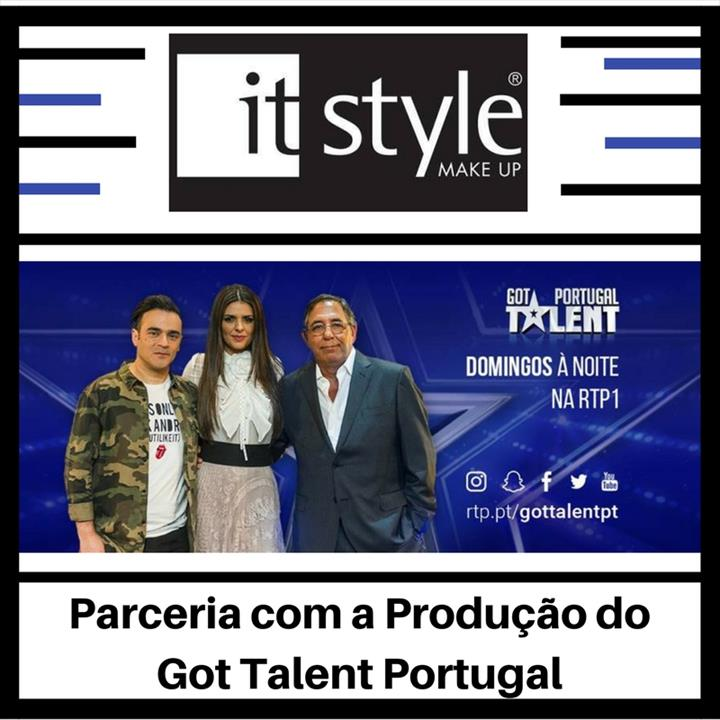 ItStyle Make Up – Parceria com a Produção do Got Talent Portugal