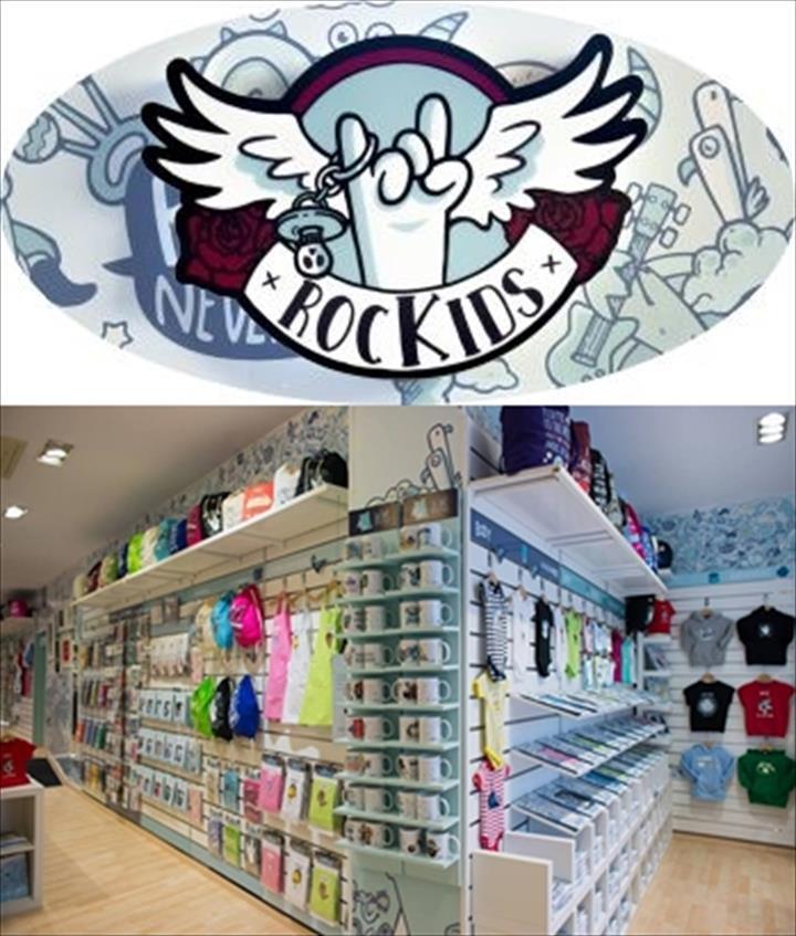 Campanha Rockids abertura das 2 primeiras lojas por um preço imperdível!