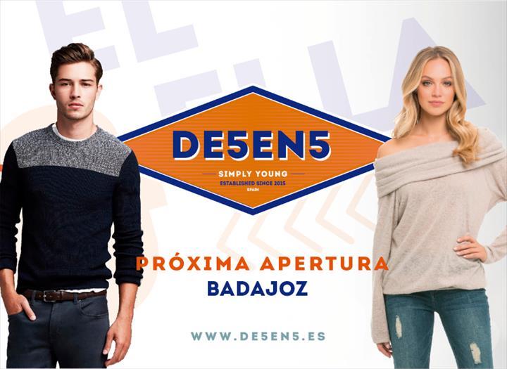 Próxima loja DE5EN5 em Badajoz