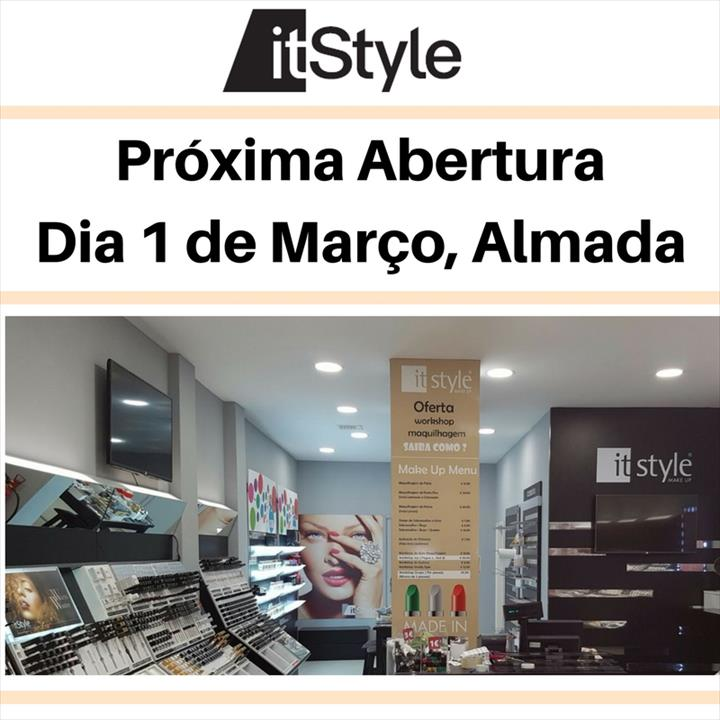 A ItStyle Make Up chega às ruas de Almada!