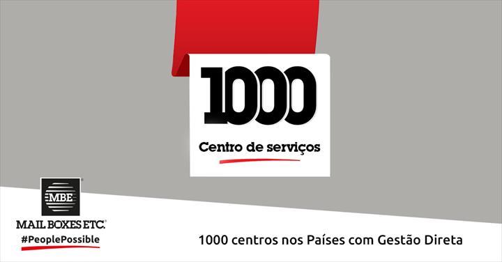 MBE Worldwide alcança 1000 centros nos países com gestão direta