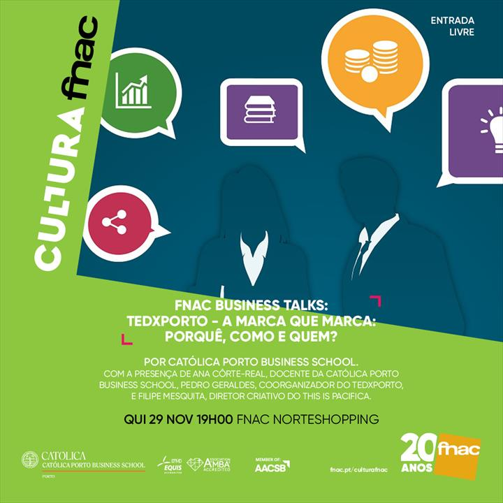 """A exportar é que a gente se entende"" é o tema da próxima FNAC Business Talks"