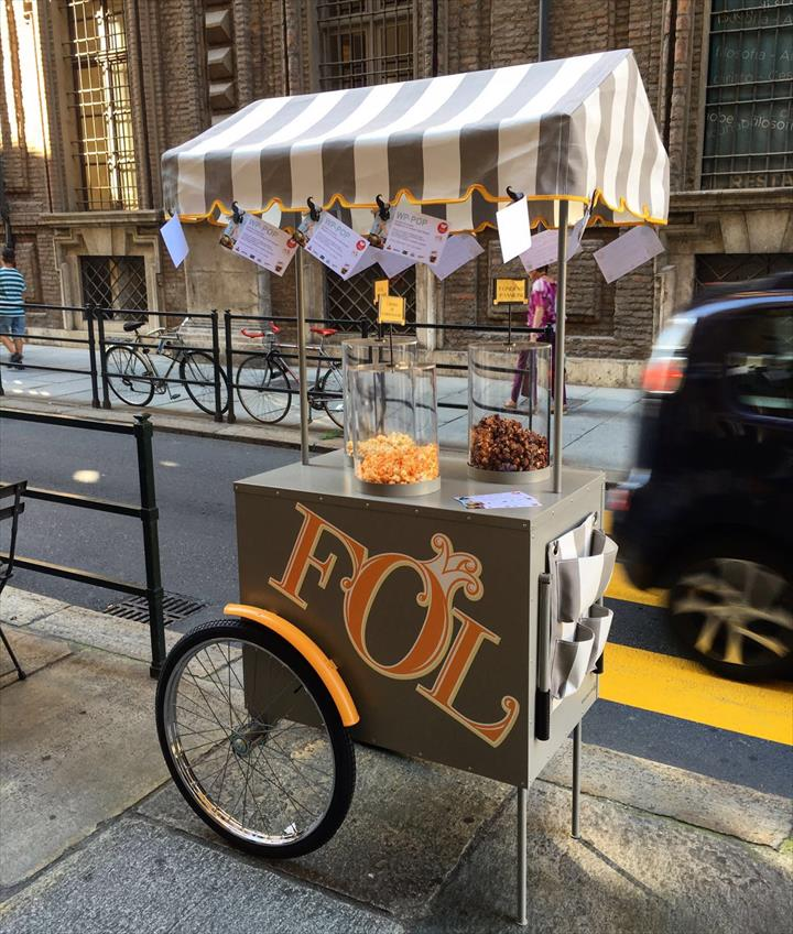 FOL Gourmet Popcorn amplia leque de parcerias para entrega ao domicílio