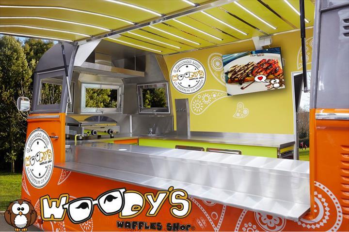 Woodys apresenta a novidade para o sector do Street Food!
