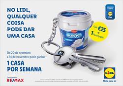 LIDL, COM A AJUDA DA RE/MAX, LANÇA CONCURSO COM MAIS DE 1 MILHÃO DE EUROS PARA OFERECER 8 CASAS AOS PORTUGUESES