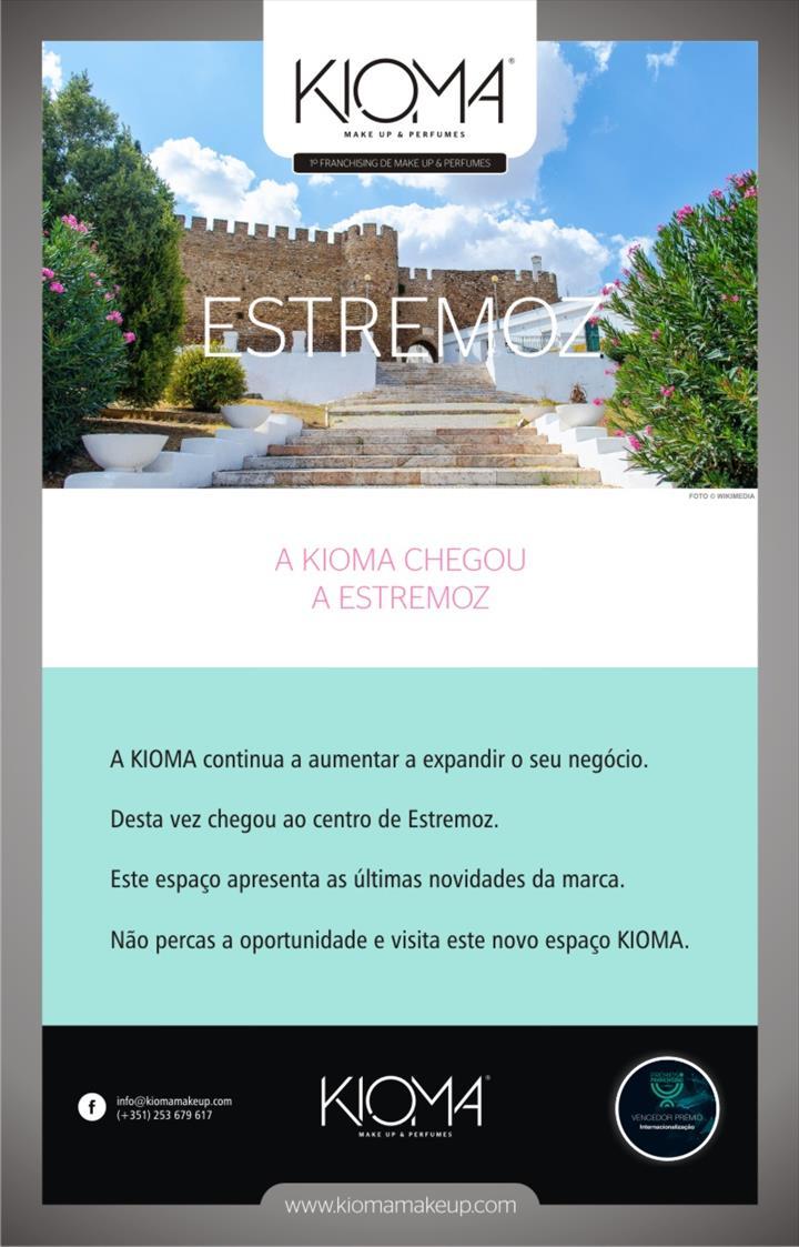 A KIOMA chegou ao centro de Estremoz