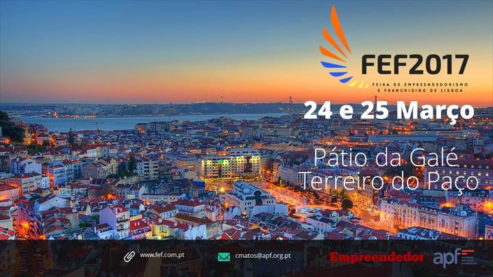 FEF2017 - Feira de Empreendedorismo e Franchising de Lisboa