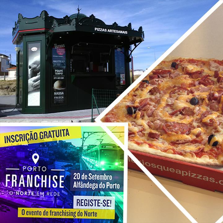 Le Kiosque à Pizzas procura parceiros de negócio no Porto Franchise
