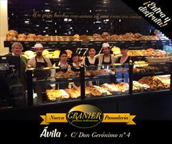 Castilla y Leon  também é # granier  já podes acercarte à nova loja em Avila Desfrutar como nunca do bom pão... ;