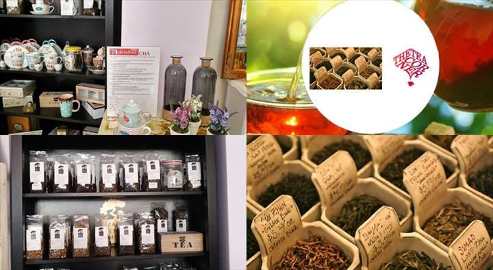 """"""" Se é amante de chás deixe-se conquistar pelo """"tea corner""""- o cantinho do chá, presente nas lojas Dulzia e Dtdetalles"""