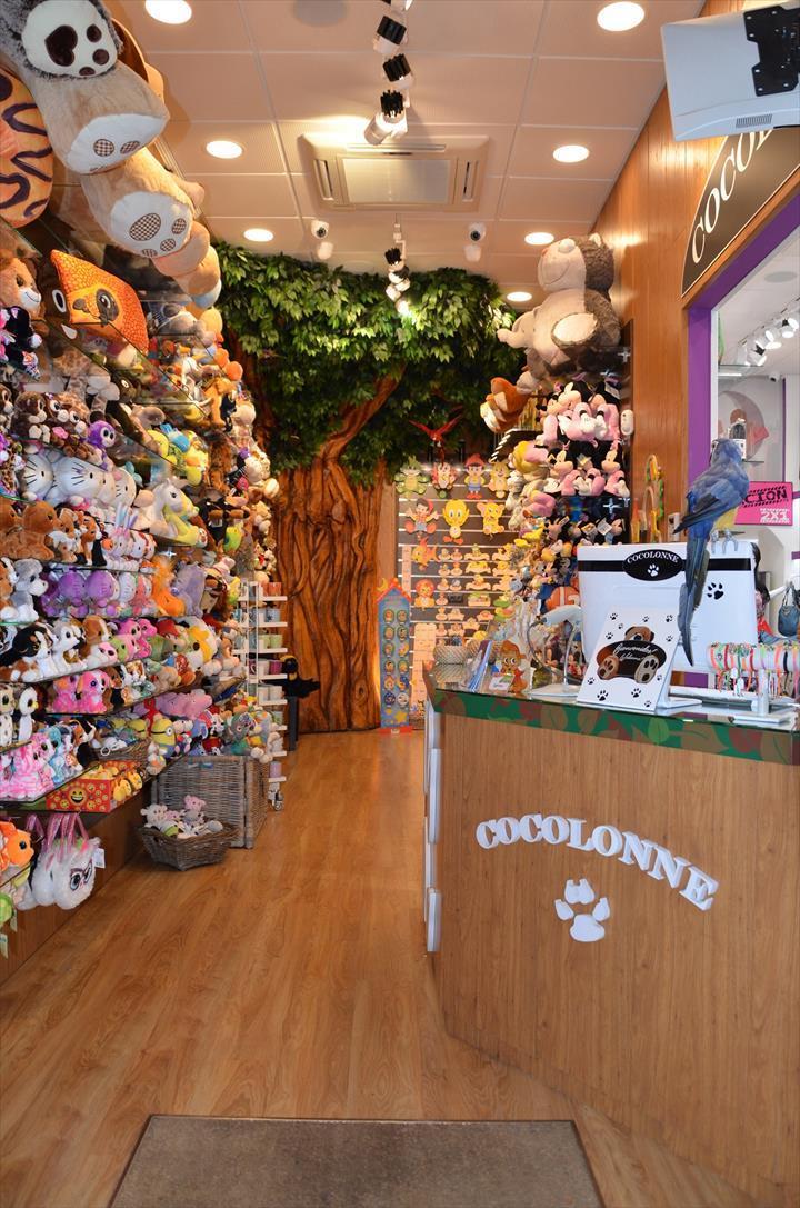 A Cocolonne é um mundo diferente. Com os peluches e os artigos de madeira como protagonistas, constitui um modelo de loja que não passa despercebido a ninguém