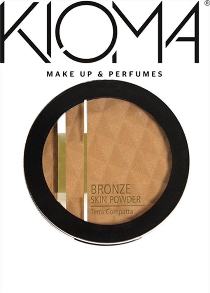 Porque as noites de verão pedem aquele brilho extra e porque o seu bronze merece, a KIOMA lança o seu BRONZE SKIN POWDER